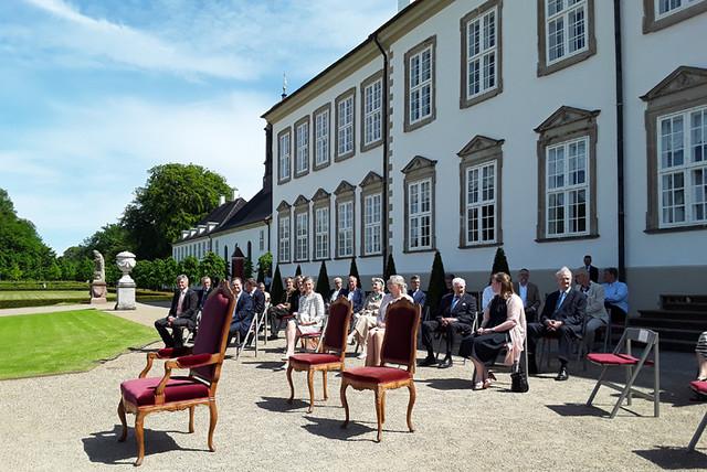 2021 Ceremony for Fredensborg Palace Garden, Denmark
