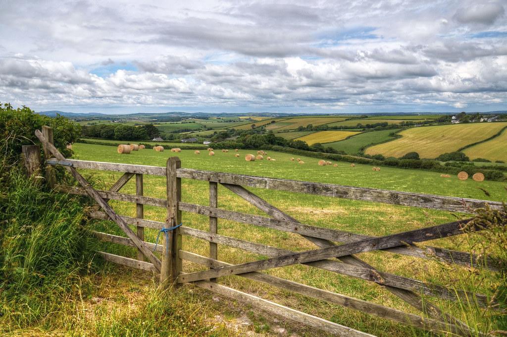 Farmland near Pelynt, Cornwall