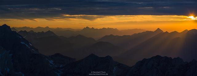 Sunset dream at Alpspitze