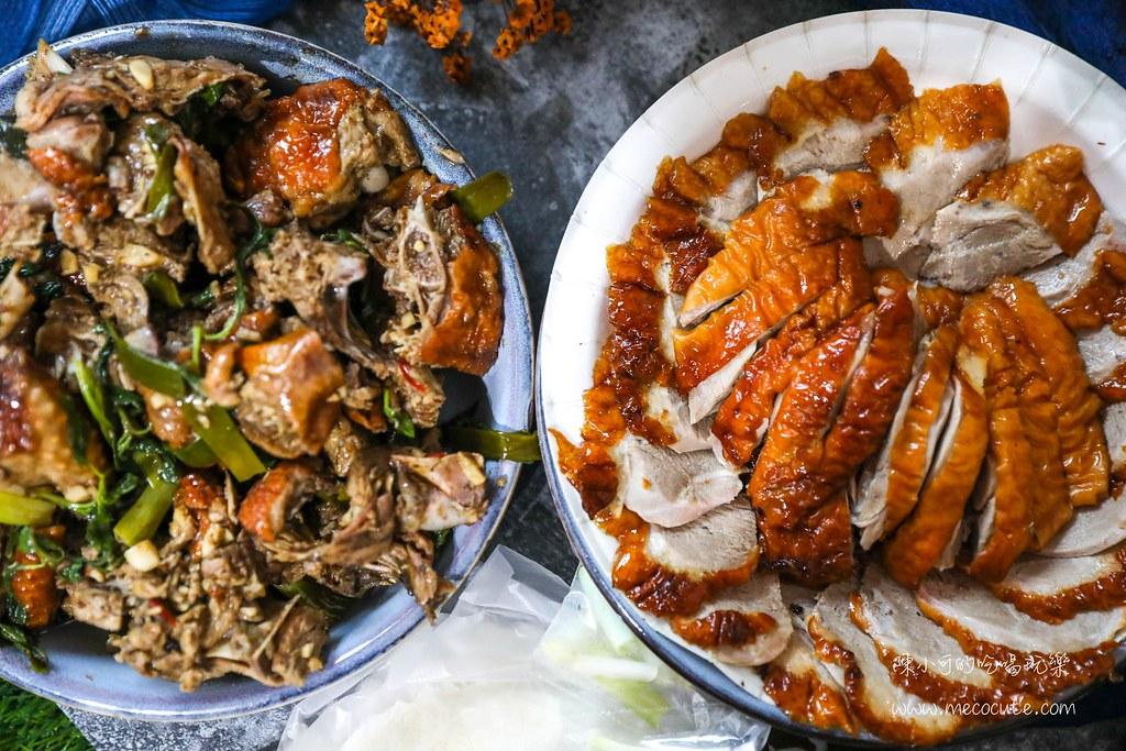 在地人推薦吃這間烤鴨,生意超好!每次經過都在排隊,一鴨三吃是經典的新軒烤鴨