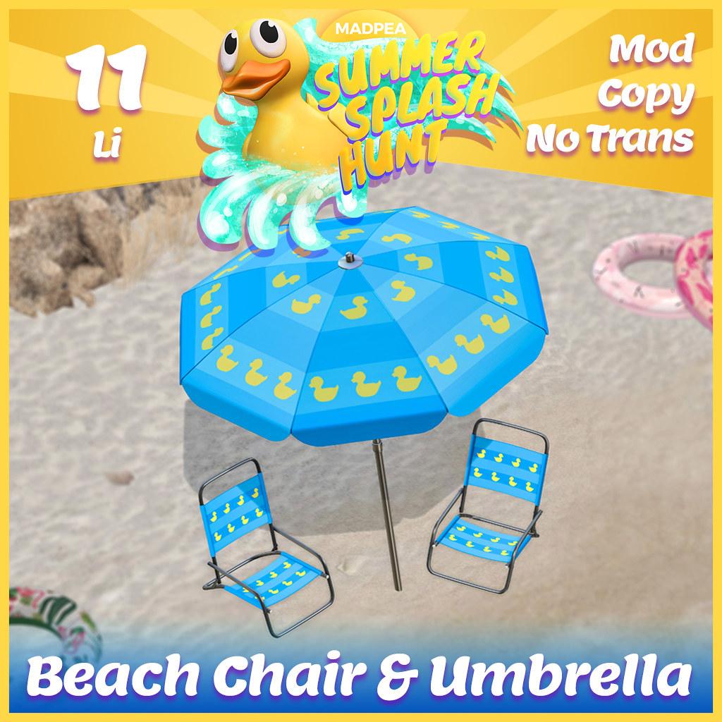 Summer Hunt Prize Reveal: Beach Chair & Umbrella
