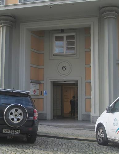 Art Deco Doorway, Bergen