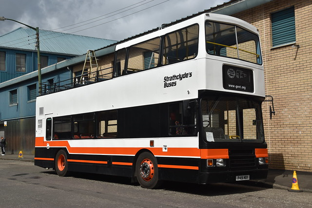 Preserved - Strathclyde Buses - P491MBY