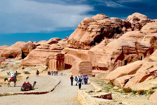 Djinn Blocks at Petra City - Jordan.
