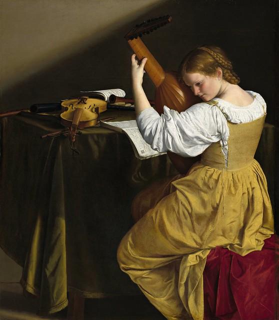 Orazio Gentileschi (1563-1639) - The Lute Player (c.1616)