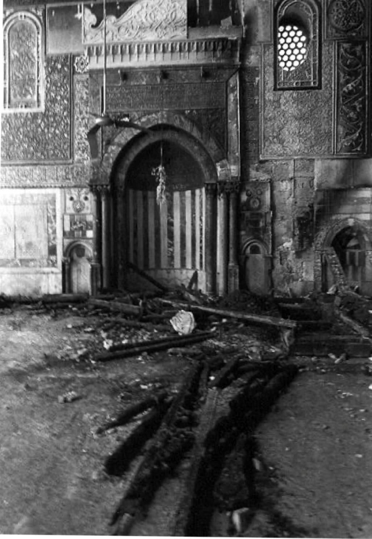 07. Внутри мечети после пожара