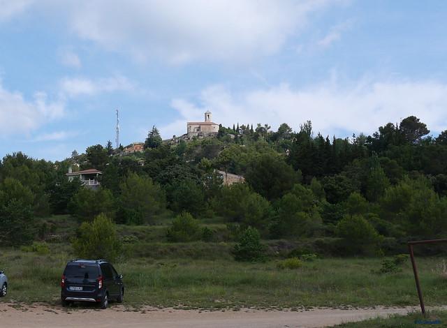 Mont-Ral -02- Población -01- Desde el Campo de fútbol (04-07-2021)