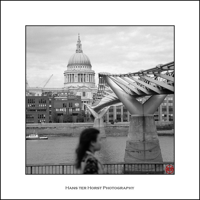 Around the Millennium Bridge, London