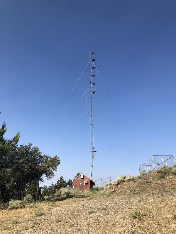 Fall Mountain communications tower