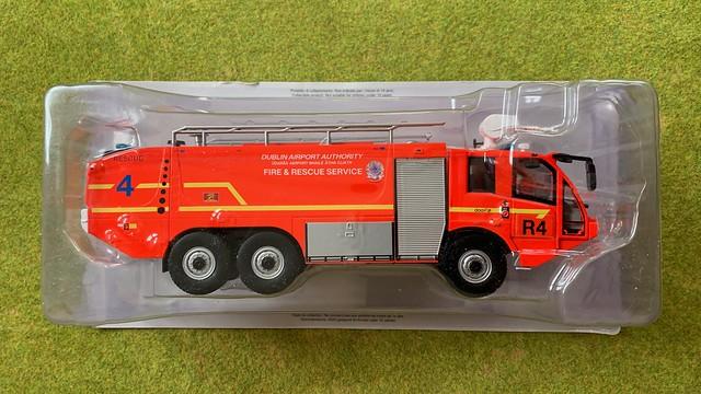 Pompieri del Mondo - Sides Sentinel ARFF Fire Appliance - Rescue 4 - Dublin Airport Authority, Ireland - Miniature Diecast Metal Scale Model Emergency Services Vehicle