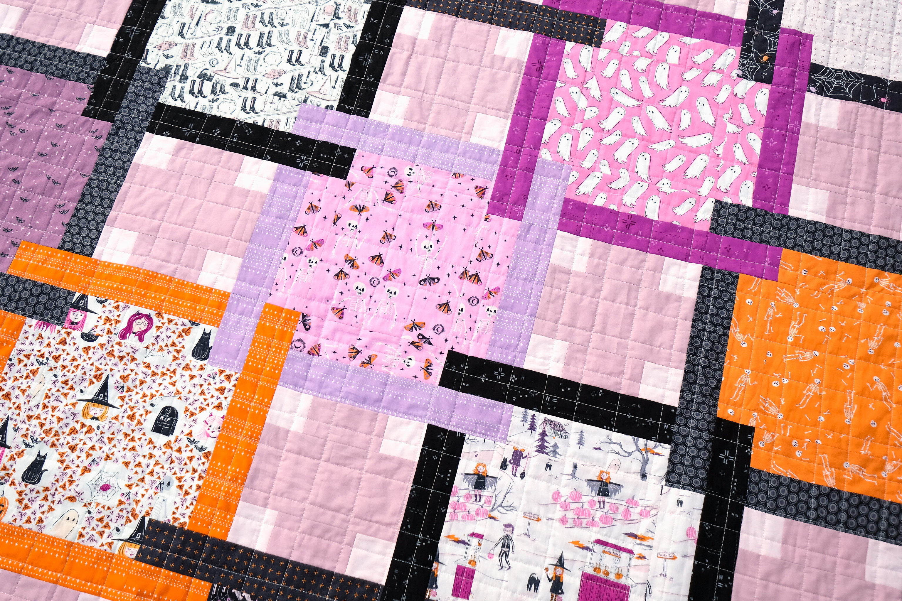 The Judy Quilt in Spooky n Sweeter 12
