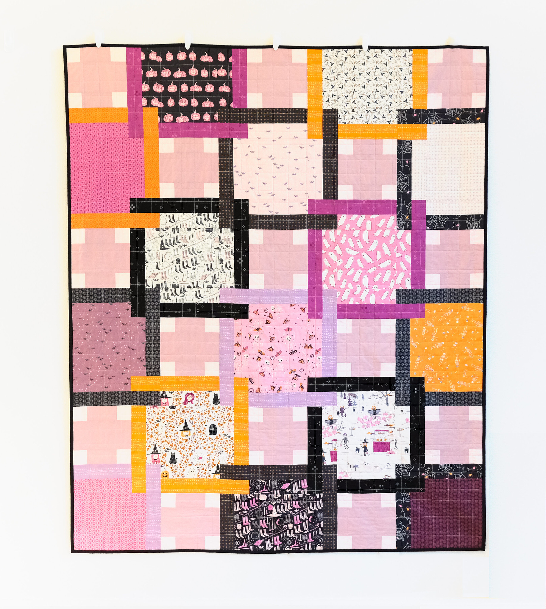 The Judy Quilt in Spooky n Sweeter 11