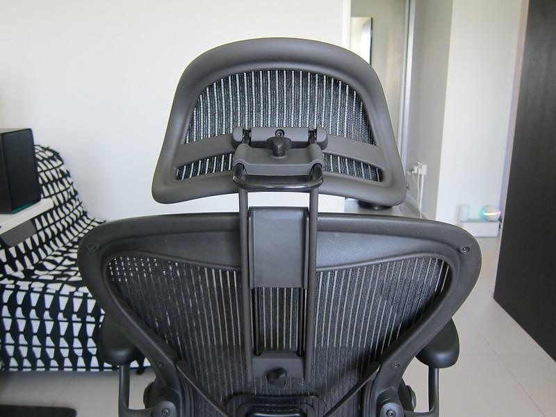 Atlas Headrest - With Herman Miller Classic Aeron Chair - Back