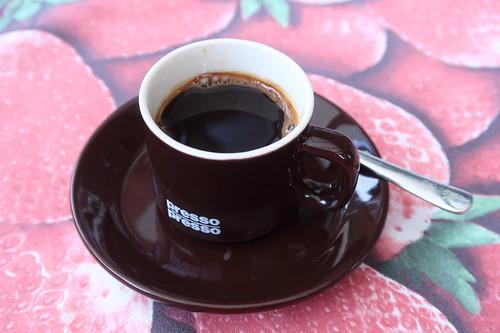 Espresso (statt/als Nachtisch)