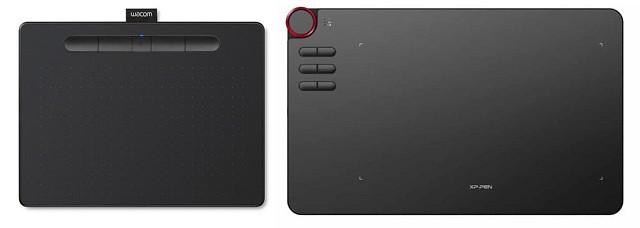 wacom intuos vs xp-pen deco 03 graphics tablet