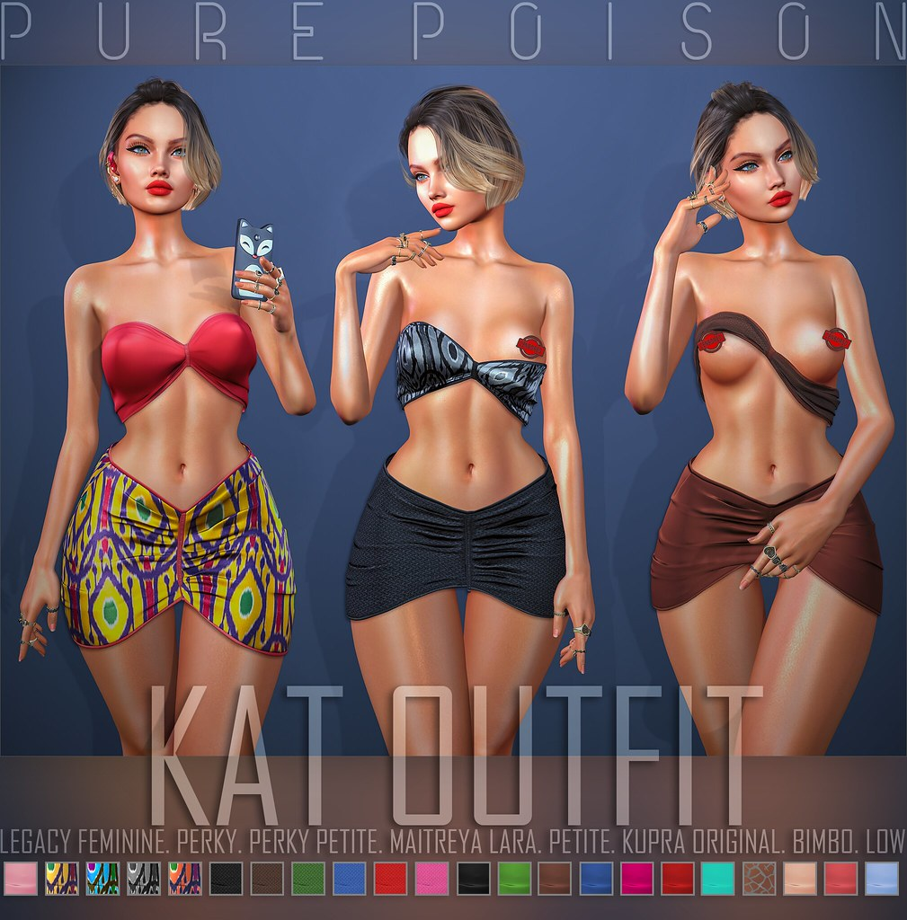 Pure Poison – Kat Outfit – Collabor88