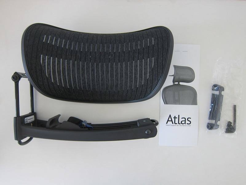 Atlas Headrest - Box Contents