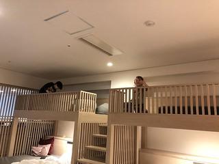 Kids in the loft