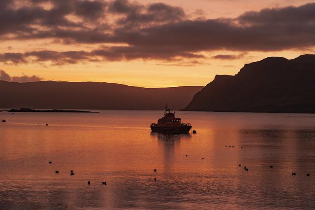 Portree Lifeboat @ Sunrise