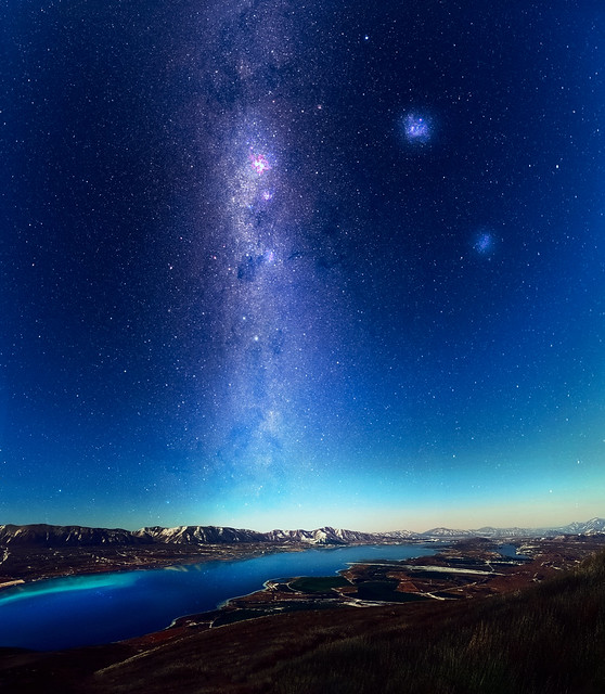 Milky way over Lake Tekapo, NZ