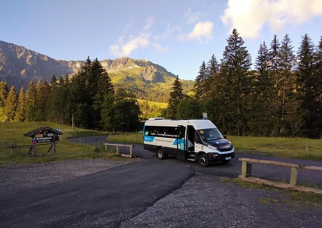 Iveco Daily GNC Autocars Borini FL-260-AS Le Petit Lay Megève (74 Haute-Savoie) 02-07-21a