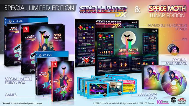 Star Hunter DX & Space Moth: Lunar Edition - Packshots