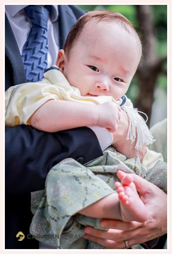 お宮参り 5か月の男の子