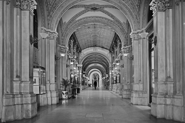 historic arcade / Vienna