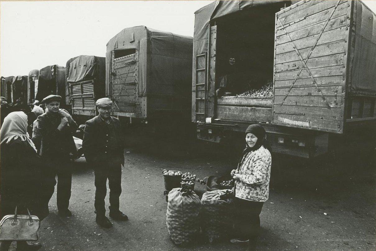 1983. Макеевский рынок