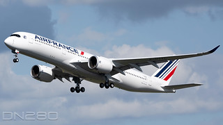 Air France A350-941 msn 510 F-WWDW / F-HTYL Pointe à Pitre