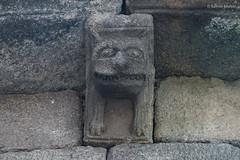 DSC4029 Canecillo en el ábside central de Santa Mariña de Augas Santas, siglos XI-XIII, Augas Santas, Ourense