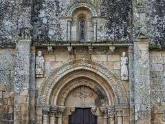 DSC4001 Portada Occidental, San Pedro da Mezquita, 1202, A Merca, Ourense