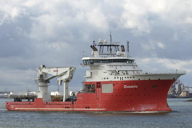 OCEANIC 🇲🇹 Offshore Supply Ship - Nieuwe Waterweg - Hoek van Holland