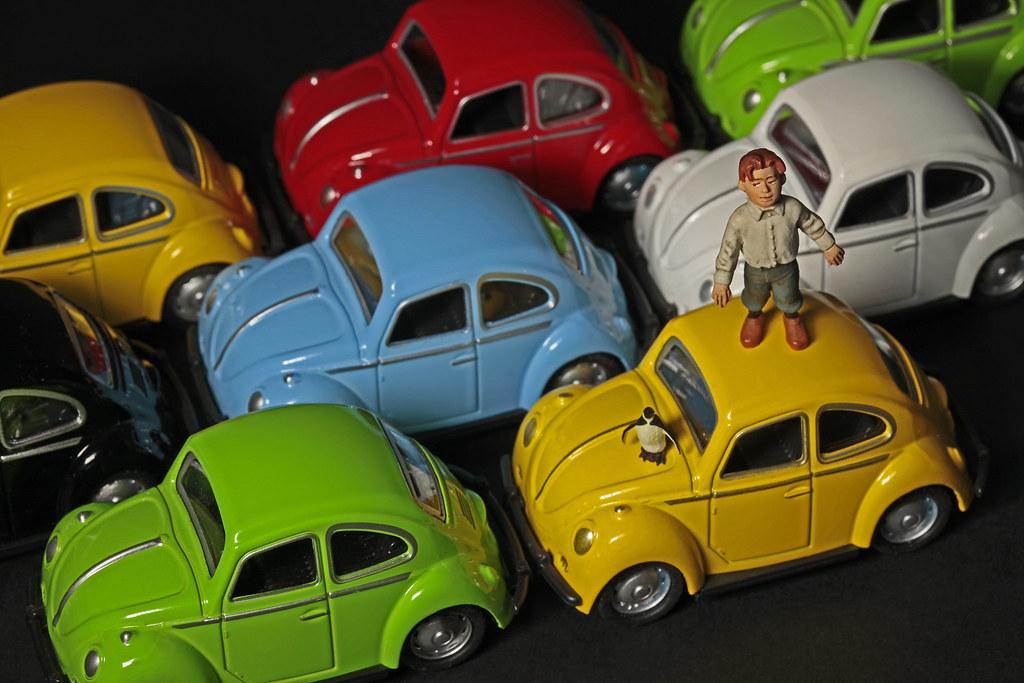help ! traffic jam / le grand embouteillage / käferstau