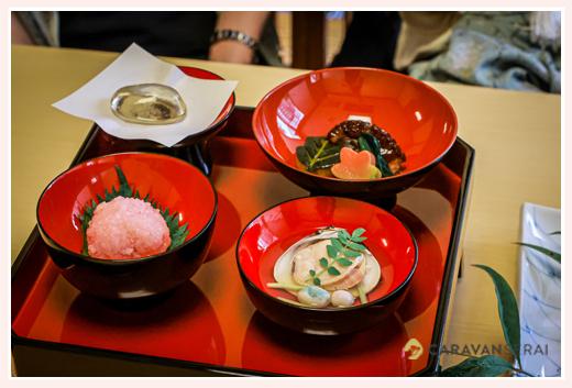 お食い初め膳(料理)