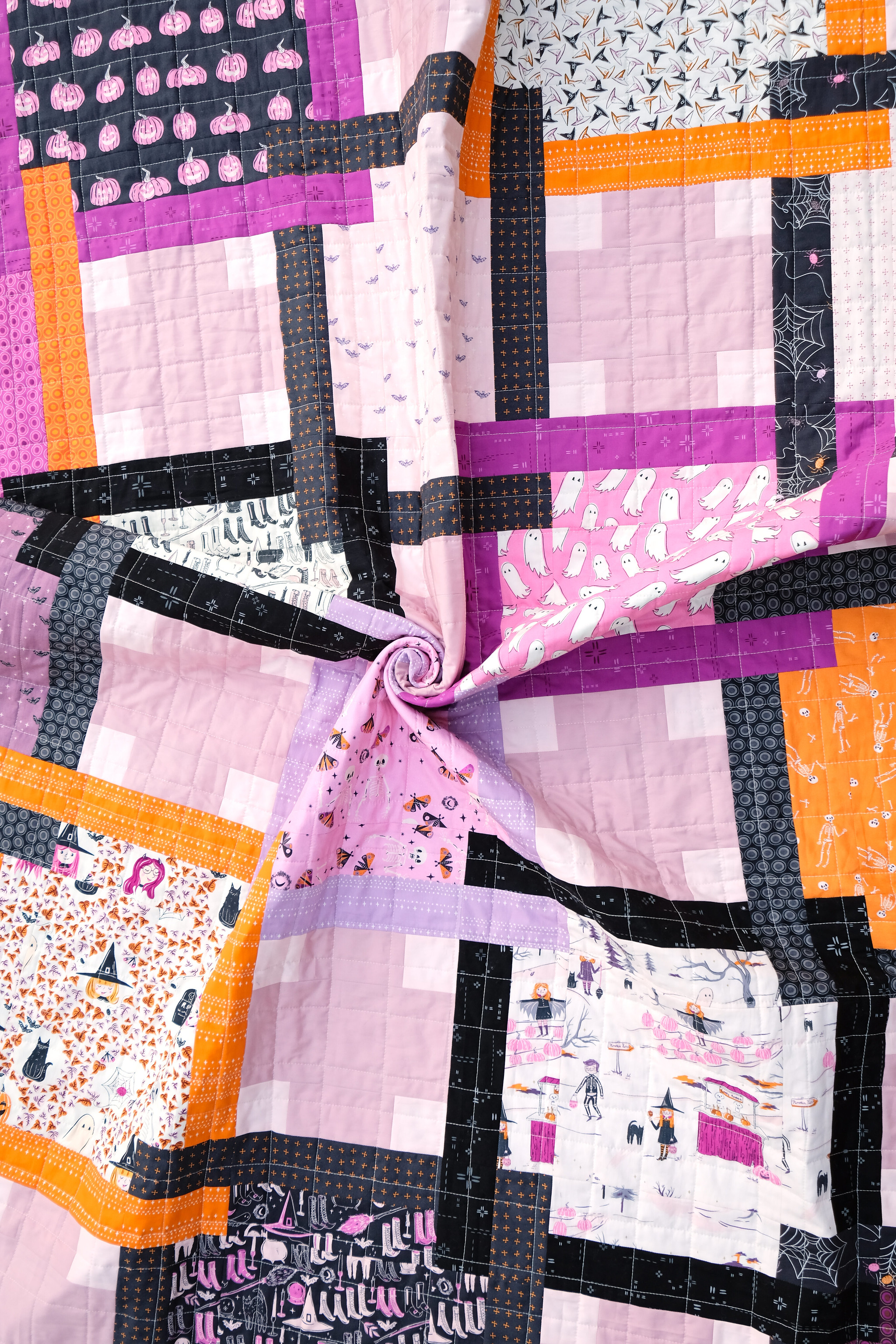 The Judy Quilt in Spooky n Sweeter 7