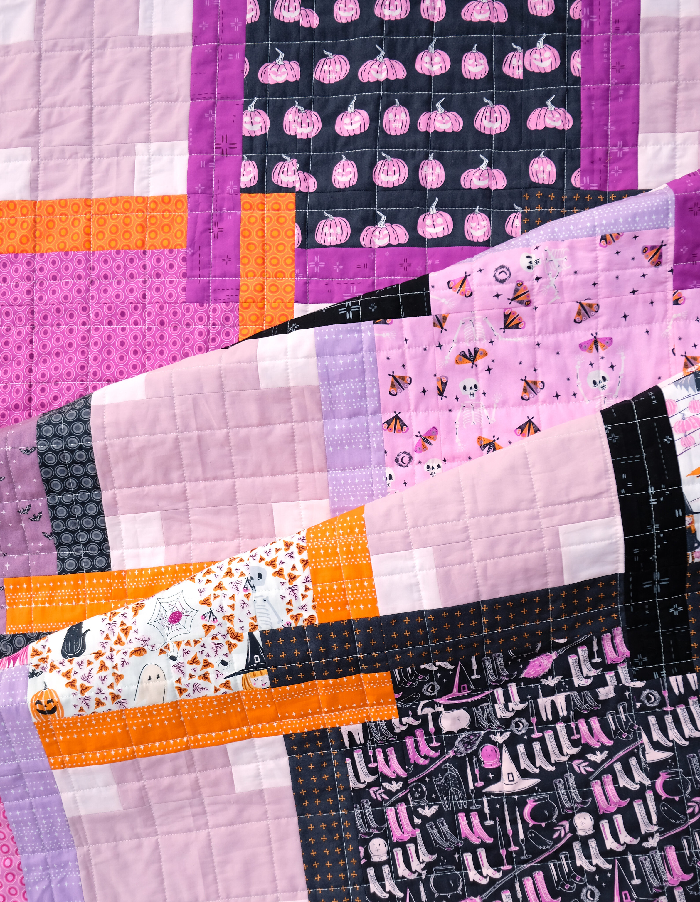 The Judy Quilt in Spooky n Sweeter 6