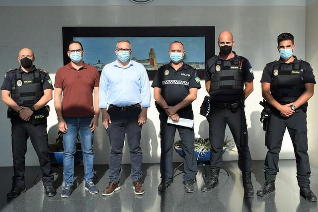Nuevos policías locales para Los Palacios y Villafranca