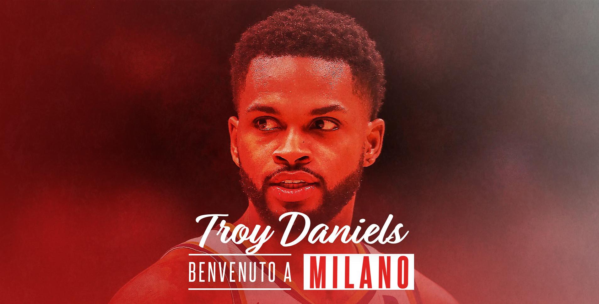L'Olimpia Milano annuncia l'accordo con la guardia Troy Daniels