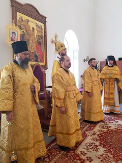 04.07.2021   Божественная литургия в Юрьевом монастыре