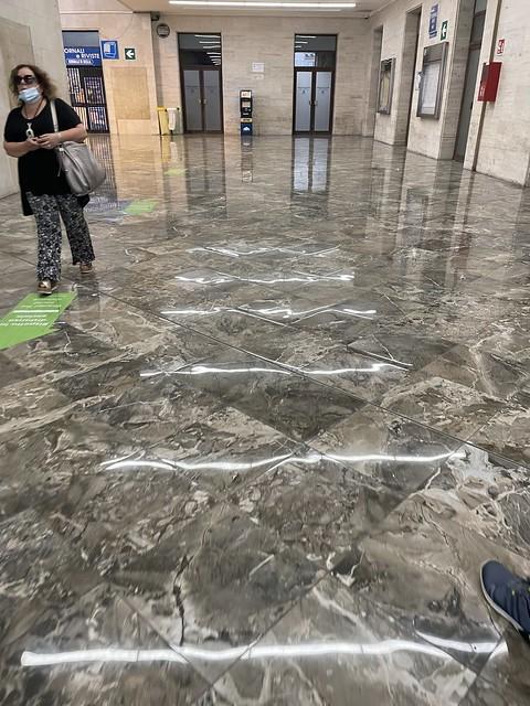 Trostloser Bahnhof Palermo Centrale