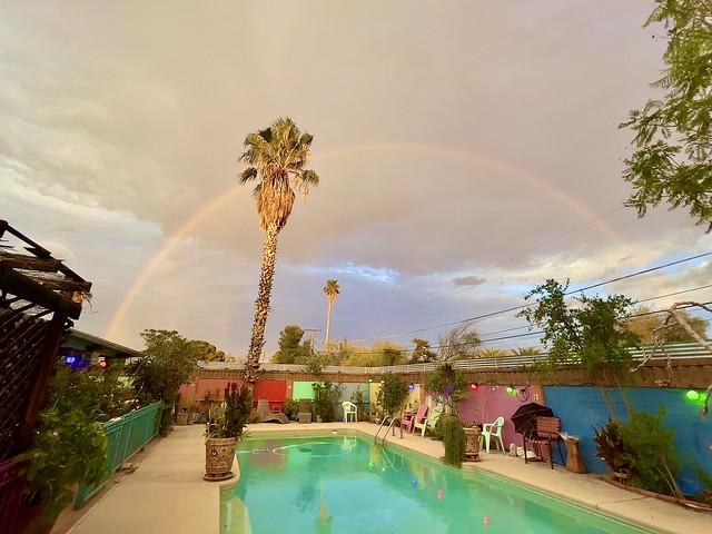 Last Evening's Summer Monsoon Full Rainbow
