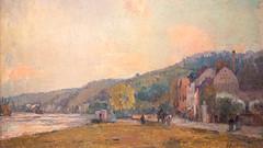 La Seine à Croisset, en aval de Rouen - Lebourg, 1928