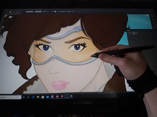 graphics art work made by illustrator program
