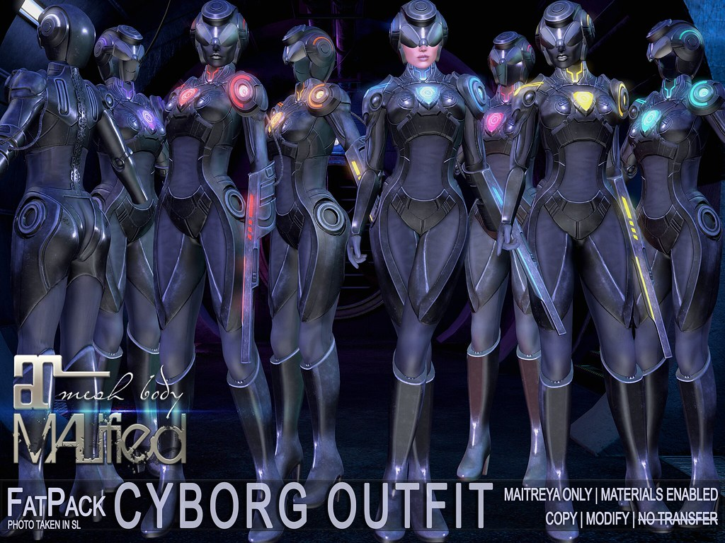 MALified – Cyborg Outfits – FatPack