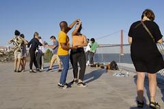 River side dancing  #lisbon #portugal