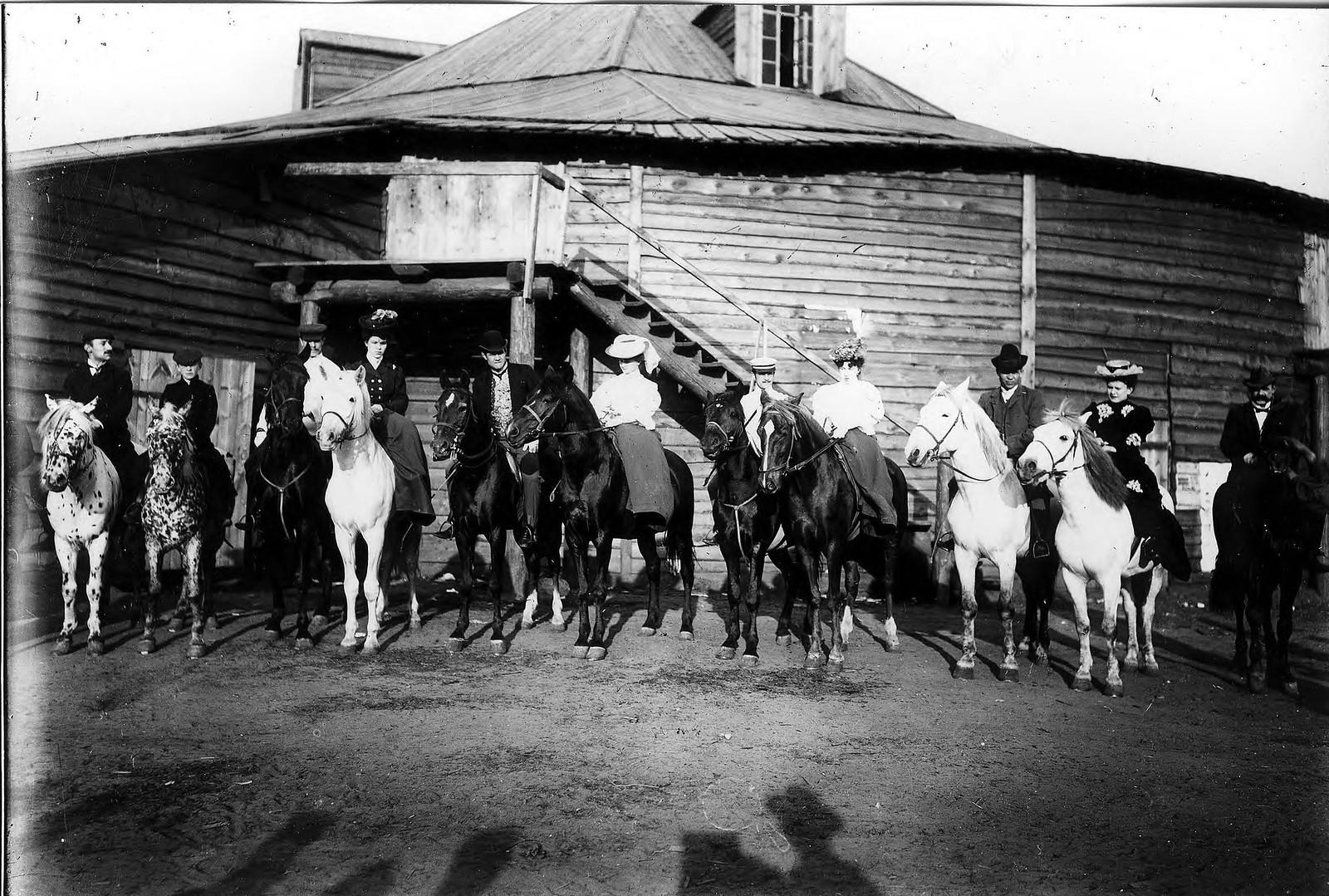 Цирк (Струкова). 1900-е