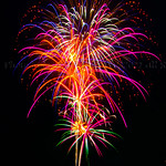 Firewroks in Pacific Palisades on July 3rd and 4th