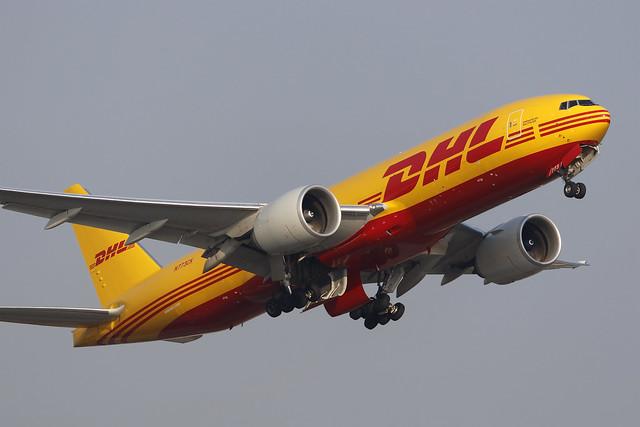N773CK, Boeing 777F, Kalitta Air, Hong Kong