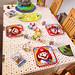 Tischdekoration zum Geburtstag 2021